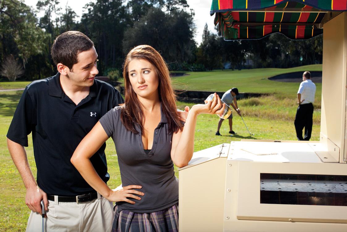 The Secret Life Of Cart Girls | Golf Digest
