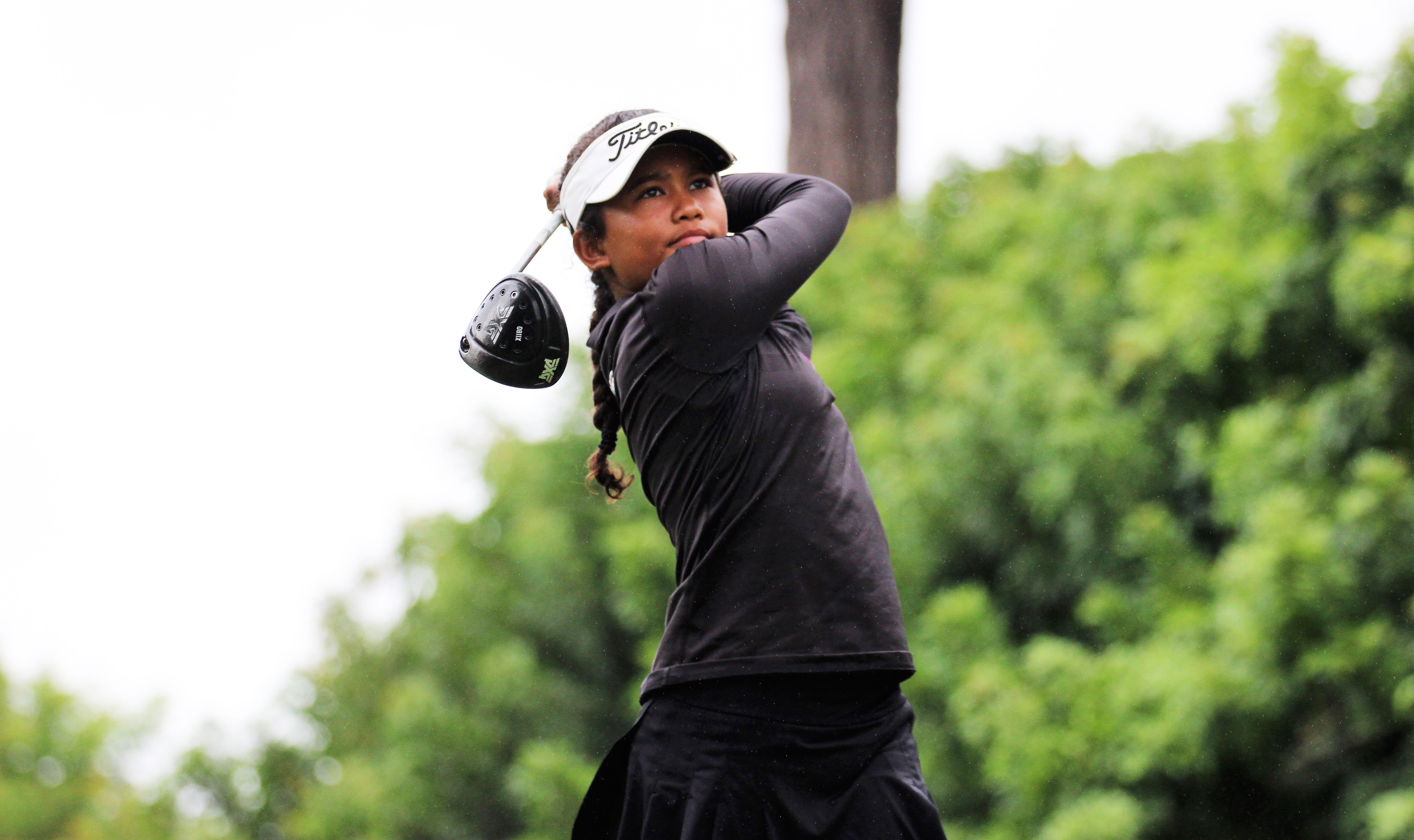 The Short Game Star Amari Tigress Avery Is Growing Up And So Is Her Father Golf World Golf Digest