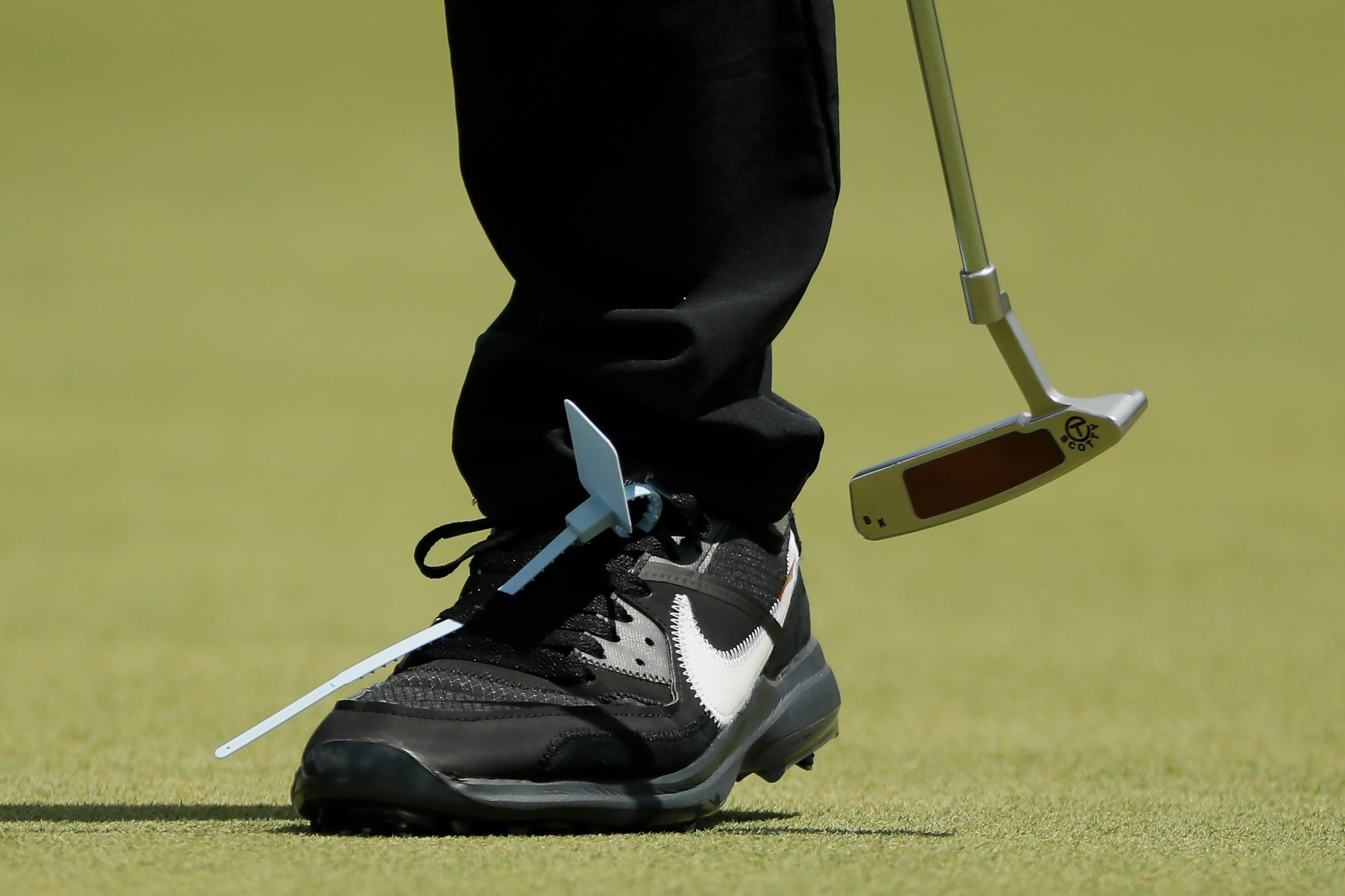 shoes at the Tour Championship