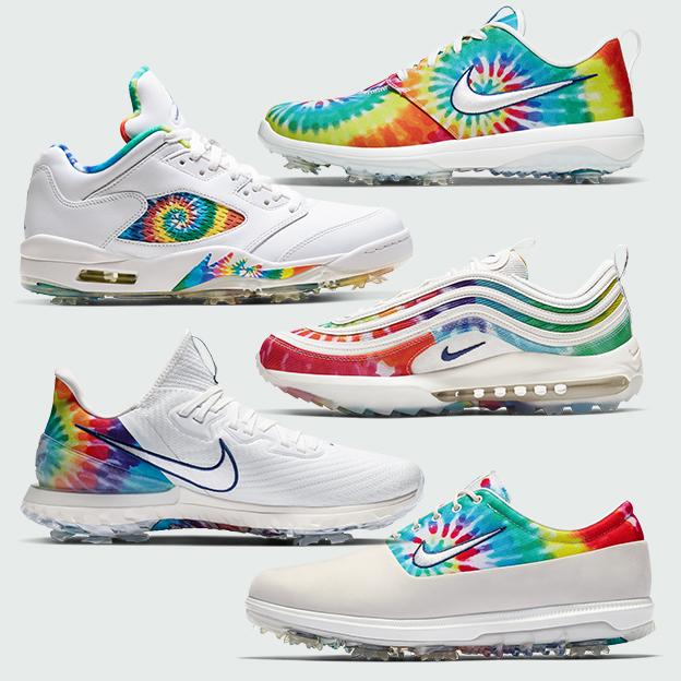 Nike tie-dye Air Jordans, Air Max 97s