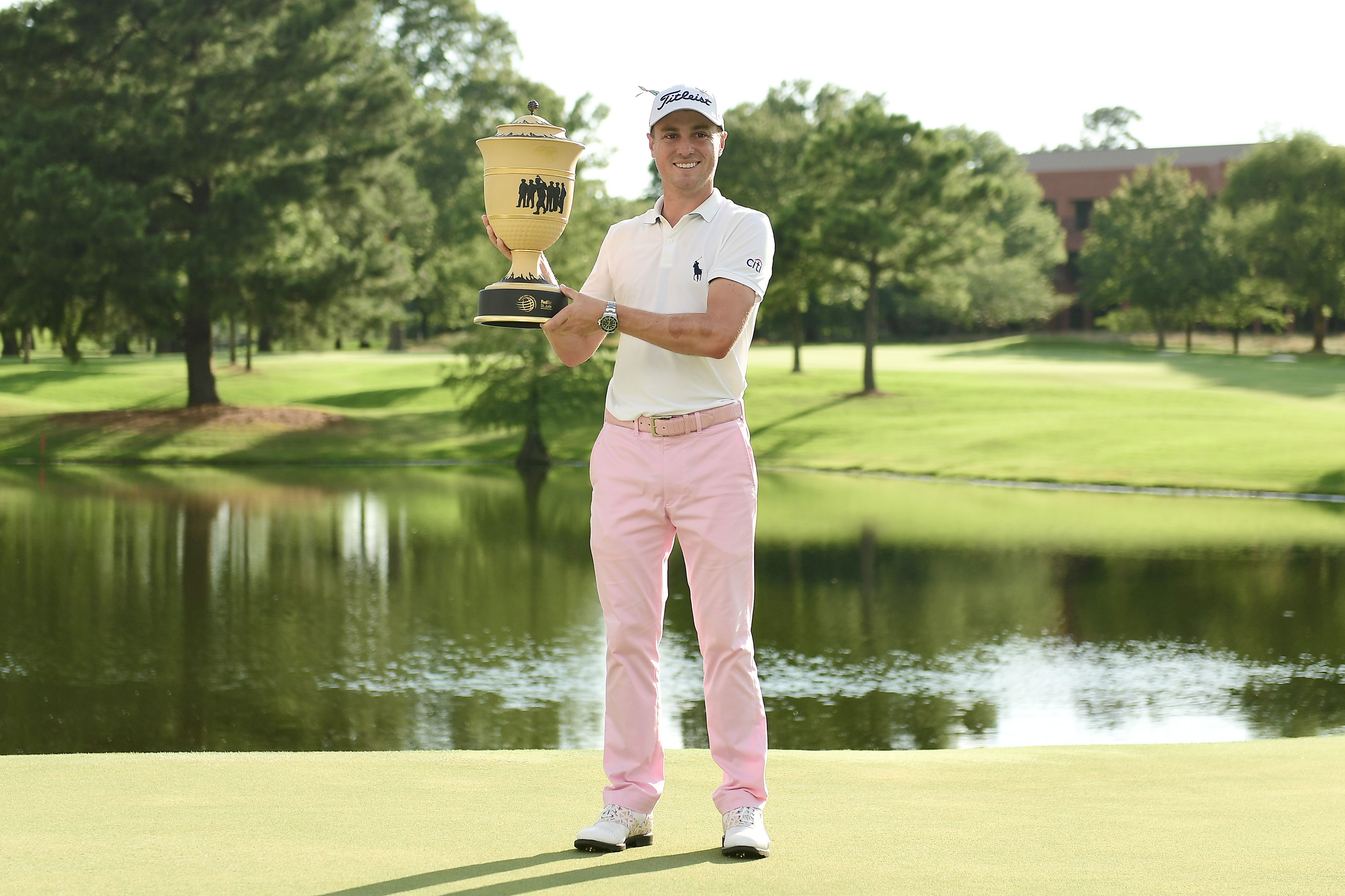 Justin Thomas gets 'unbelievably lucky' in Memphis but also shows how much  he knows about winning | Golf World ...