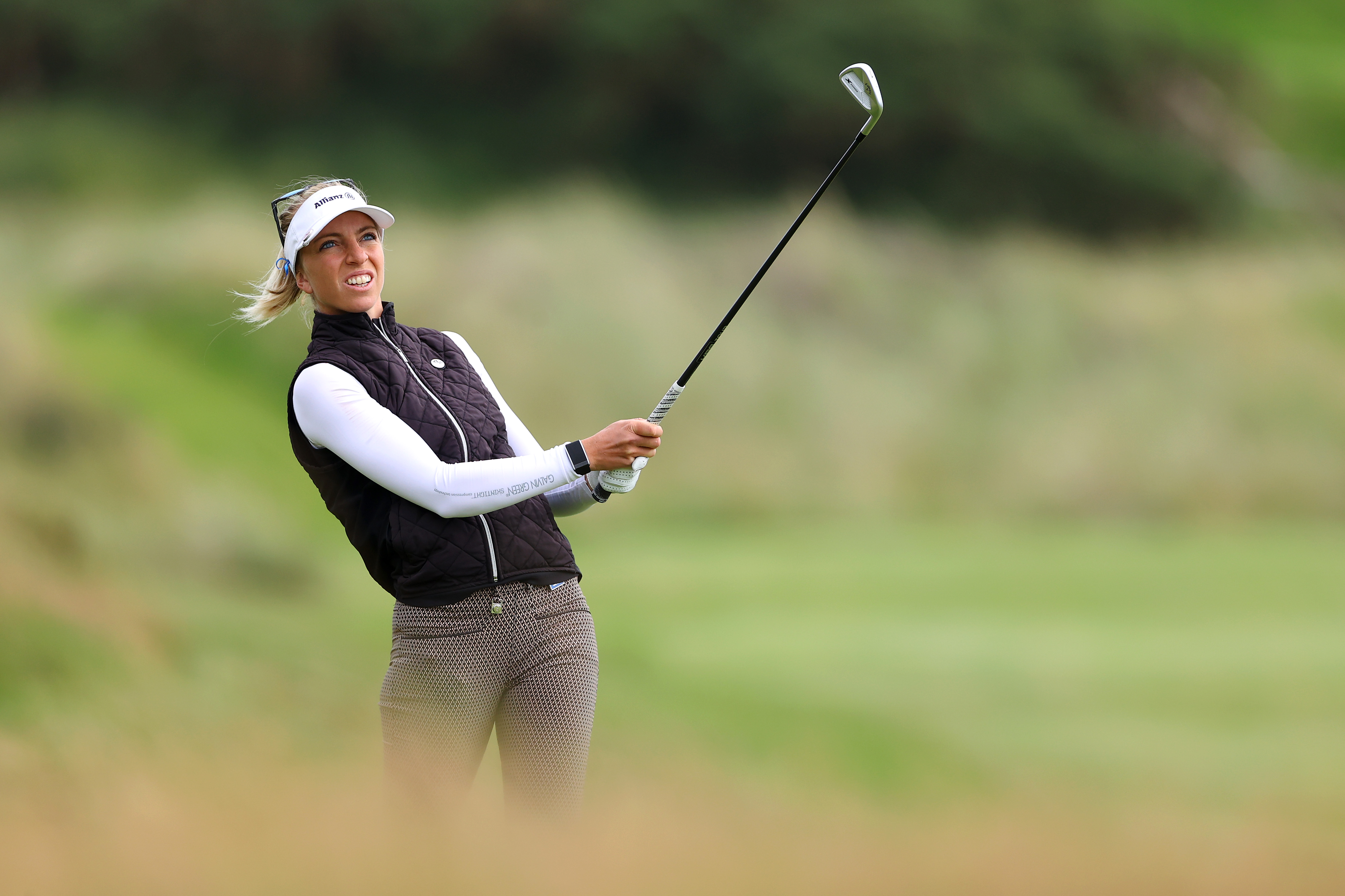 Sophia Popov goes from caddie to AIG Women's British Open leader ...